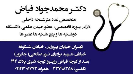 دکتر محمدجواد فیاض