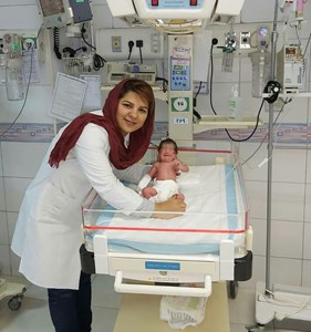 دکتر مهرنوش جهان بین متخصص کودکان و نوزادان